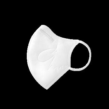 :dc 克微粒® 立體口罩 (成人) - 白色白耳帶 6 片 / 盒