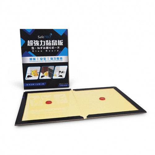 SafePRO® 超黏力捕鼠板 (硬紙卡)